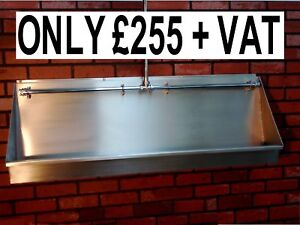 BRAND NEW 4 FOOT ( 1200 mm) STAINLESS STEEL URINAL