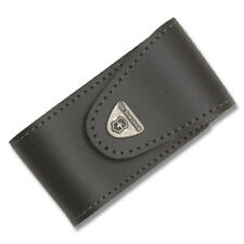 VICTORINOX Swiss Army Black Leather Pouch for SwissChamp XLT Swiss Champ 33240