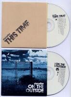 STARSAILOR On The Outside 2005 UK promo CD + bonus disc