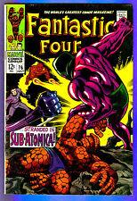 FANTASTIC FOUR # 76  - Marvel 1968 (fn-)