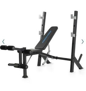 NEW ProForm Sport Olympic System Rack & Bench Combo XT Weight Lifting Home Gym