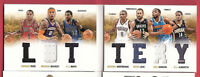 DERRICK ROSE RUSSELL WESTBROOK KEVIN LOVE 7 # GU JERSEY ERIC GORDON MAYO BOOKLET