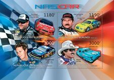 NASCAR Racing Car Drivers (Dodge/Ford/Oldsmobile/Chevy) Stamp Sheet/2012 Burundi
