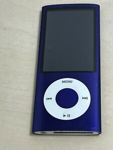 Apple iPod nano 5th Generation Purle (8GB) Model A1320 - Needs new battery