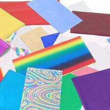 Foiling kit: bumper starter pack selection of rub on foils - cardmaking & craft