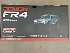 Cross RC FR4 1/10 Demon 4x4 RTR Crawler (Blue) CZRFR4RTRB Brand New!!