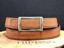 Irene T Paris Classic Reversible Mens Leather Belt Black / Brown Size 36