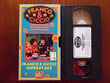 Franco e Ciccio Superstars (Franco Franchi, Ciccio Ingrassia) - VHS De Agostini