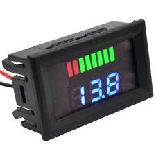 LED Indicator 24V Lead-acid Battery Capacity Tester Voltmeter Reverse Protection