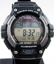 Casio WS-220-1AV Tough SOLAR Watch 120-Lap Memory Stopwatch Sports Brand New