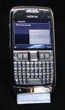 Nokia E71 Grey et Silver Russian Bulgare Clavier Nouveau Swap Original Unlocked