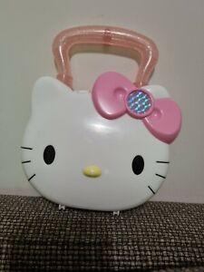 Sanrio Hello Kitty Handbag 2004 Mcdonald Toy plastic clip play cute girl