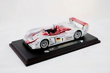 2002 AUDI R8 Infineon #1 2001 Le Mans 1/18 Diecast Car Model by Maisto