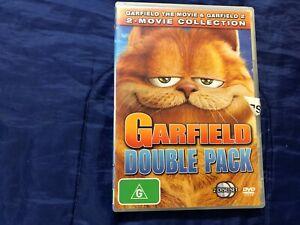 Garfield Double Pack - DVD - Region 4 - Free Postage - Aussie Seller