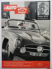 Auto Motor Sport 1/1961, Porsche Carrera GTL, Abarth 1000