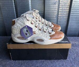 Reebok Question Mid Sneakersnstuff Lux Ostrich BD2532 Men's Sz 13