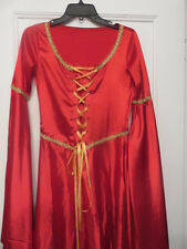 Medieval Renaissance Gown Dress Costume Lord of the Rings Game of Thrones