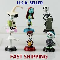 The Nightmare Before Christmas Figures - Bobble-Head, Cake Topper - COMPLETE SET