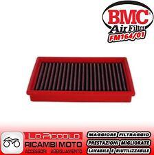 FM141//01 FILTRO ARIA BMC CAGIVA V-RAPTOR 1000 2003 2004 SPORTIVO LAVABILE RACING