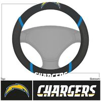 New NFL Los Angeles Chargers Car Truck Embroidered Steering Wheel Cover