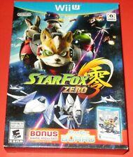 Star Fox Zero + Star Fox Guard Nintendo Wii U *Factory Sealed! *Free Shipping!