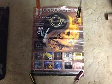 Oop! 24x18aprox Necropolis Promo Poster Collectible Album Cd Records