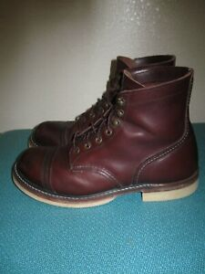 Red Wing 8119 Oxblood Iron Ranger size 9 D