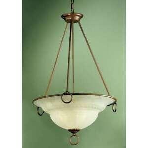 Classic Lighting Livorno Traditional Pendant, English Bronze - 40105EB
