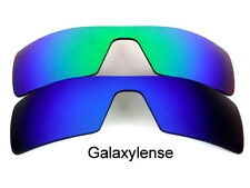 Galaxy Replacement Lenses For Oakley Oil Rig Blue&Green Polarized 2 Pairs
