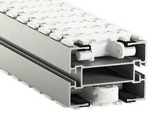 Flex Link Conveyor System - Aluminium 105mm - Clean Industrial Process Line