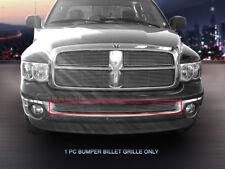 Billet Grille Grill Bumper Insert For 2002-2008 Dodge Ram