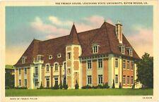 The French House, Louisiana State University, Baton Rouge, Louisiana Postcard