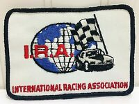 Vtg INTERNATIONAL RACING ASSOCIATION Race Patch NOS 1970s RARE Racing Int'l Int