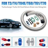 T3 T4 Turbo Turbine Repair Kit Universal Turbine Turbor Oil Line Kits Feed line