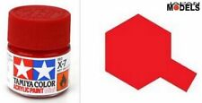 Acrylic Paint - Colore Acrilico Vernice 10ml X-7 X7 RED 81507 Tamiya