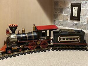 Kalamazoo Toy Train Works D&RGW Engine & Tender 1861-3, One Gauge
