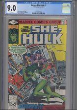 The Savage She Hulk #2 CGC 9.0 1980 Marvel John Buscema Cover: New Frame