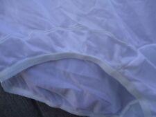 NOS Vtg 90s Snow White Nylon Panties Pillowtab USA Made 10 Waist 30-46