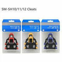 Bicycle Float fixed SPD-SL Road Bike Pedal SM-SH10/11/12 Cleat set