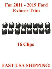 2011-2018 Ford Explorer Windshield Molding Clips With Sealer 16 Piece