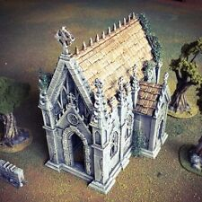 Winterdale Chapel  28mm Tabletop Games Dwarven Forge D&D Terrain Warhammer