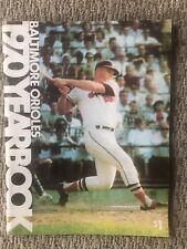 1970 Baltimore Orioles Baseball Yearbook - BOOG POWELL -