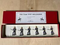Old Time Lead Toy Soldiers British Royal Marines The Soldier Factory Pre-Owned