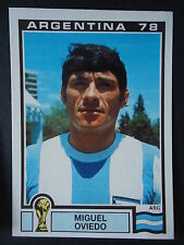 Panini 98 Miguel Oviedo Argentina WM 78 World Cup Story