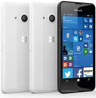 Brand New Microsoft/Nokia Lumia 550 WHITE - Mobile Phone-Unlocked Windows 10