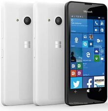 Brand New Microsoft/Nokia Lumia 550 WHITE - Mobile Phone-Unlocked Windows 10