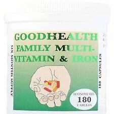"Family Multi-vitamin & Iron 360 Tablets (2 x 180)     ""FREE POST"""