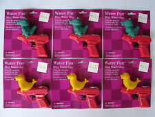 (6 LOT) NEW Seal & Alligator Water Squirt Gun Toy Animal Pistol Pool/Party Favor