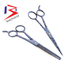 Professional Barber Hair Cutting Thinning Scissors Salon Shears Hairdressing Set