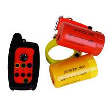 Remote Dog Beeper Collar Hunter 2000 pour 2 chiens